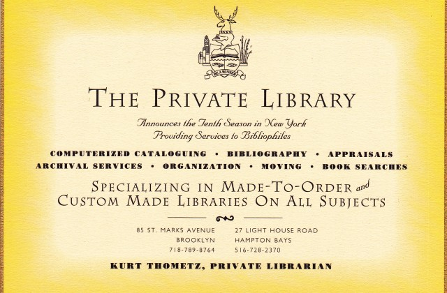 Private Library 1990