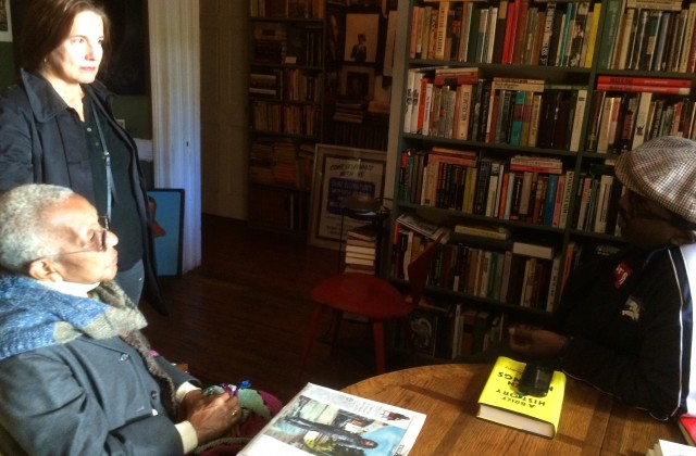 All the talk: Sunday afternoon at Jumel Terrace Books.